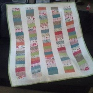 Keeping Up Tradition (Baby Quilt 4)