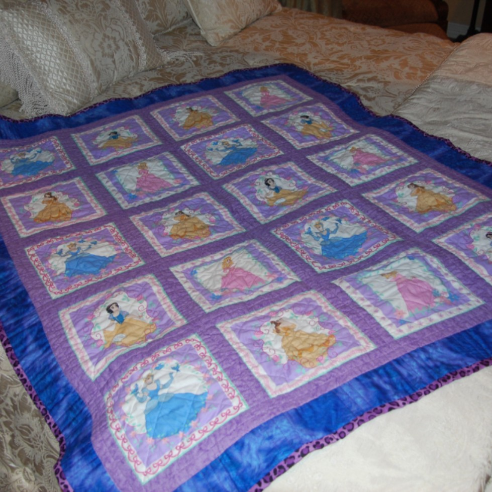 Disney Princess Quilt