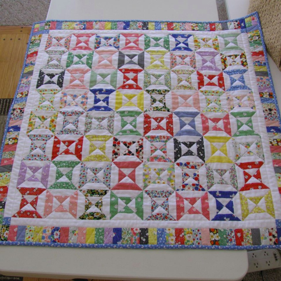 Short Story Baby Quilt