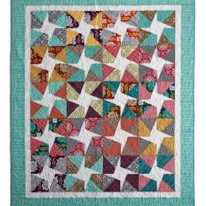 Freestyle star quilt