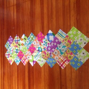 Zig Zag Table Runner