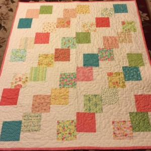Falling Charms Baby Quilt
