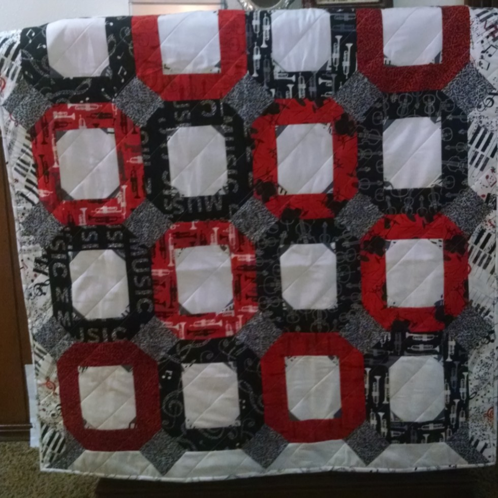 Step-granson William's baby quilt
