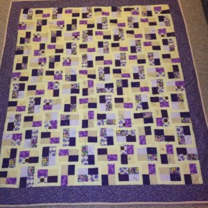 Step-daughter Jennifer's quilt
