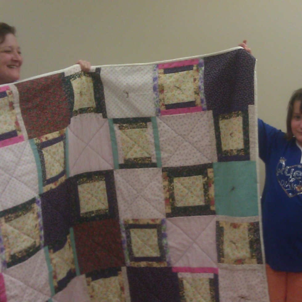 Softball Charity quilt 2012
