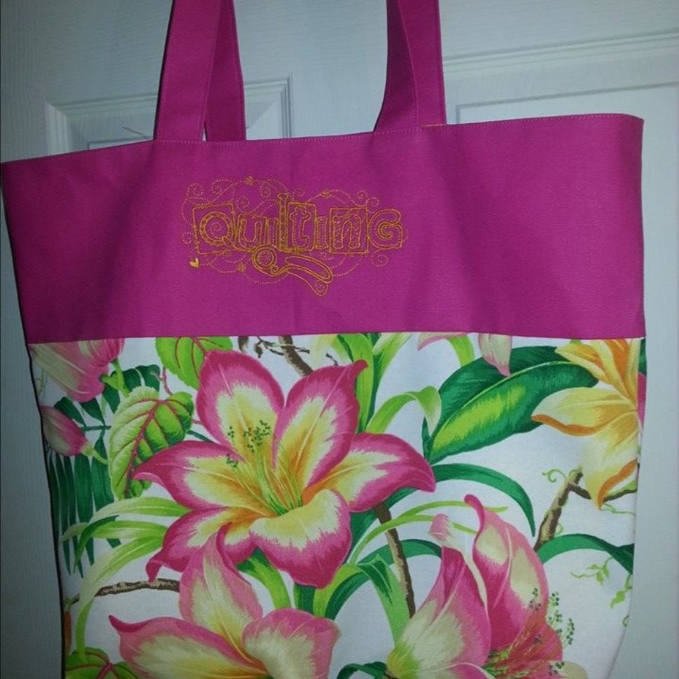 Bag for quilting supplies
