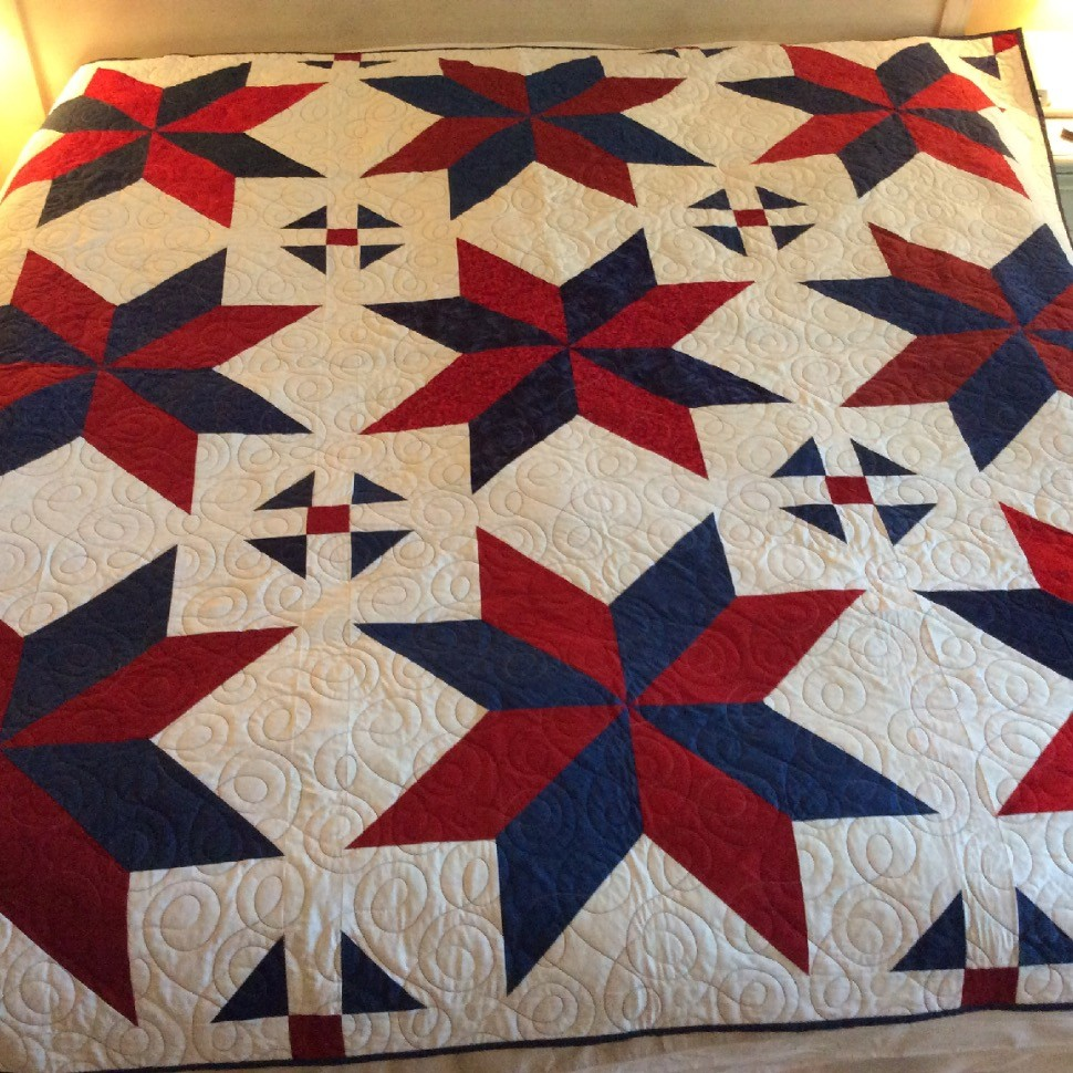 Missouri Star Quilt Co S Quot Big Star Quilt Quot Pattern