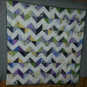 my first quilt for my granddaughter 2013