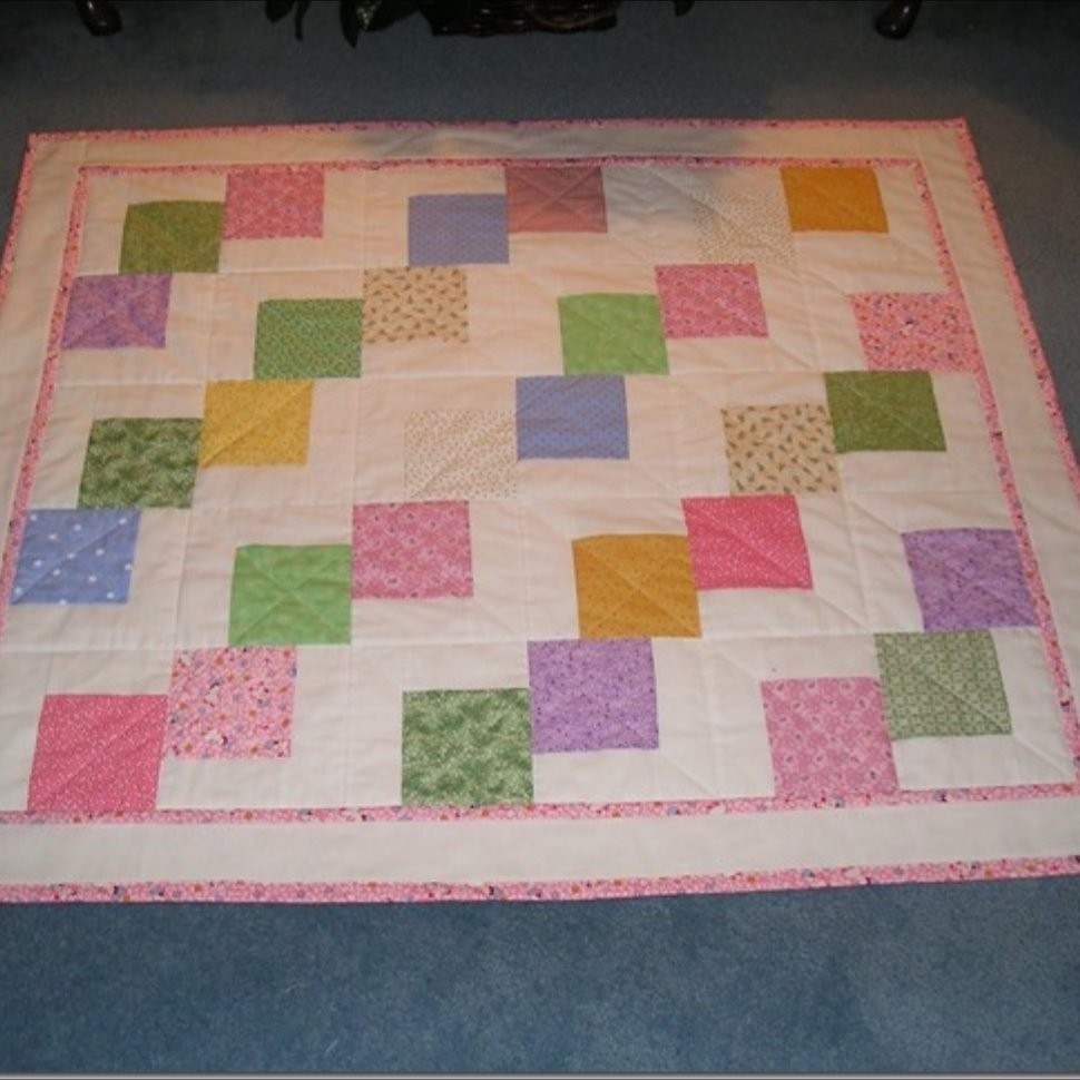 Falling Charms Baby Quilt Quiltsby Me