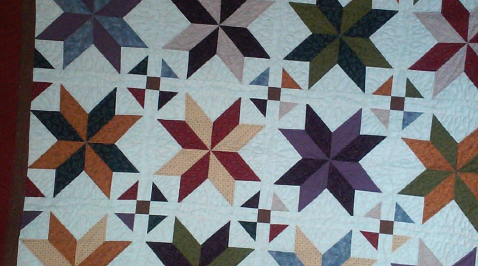 Big Star Wedding Quilt