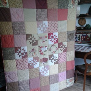 Amelie's Wedding Quilt