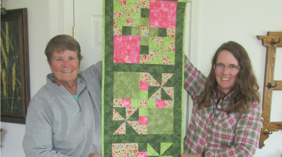 Spring Time Table Runner