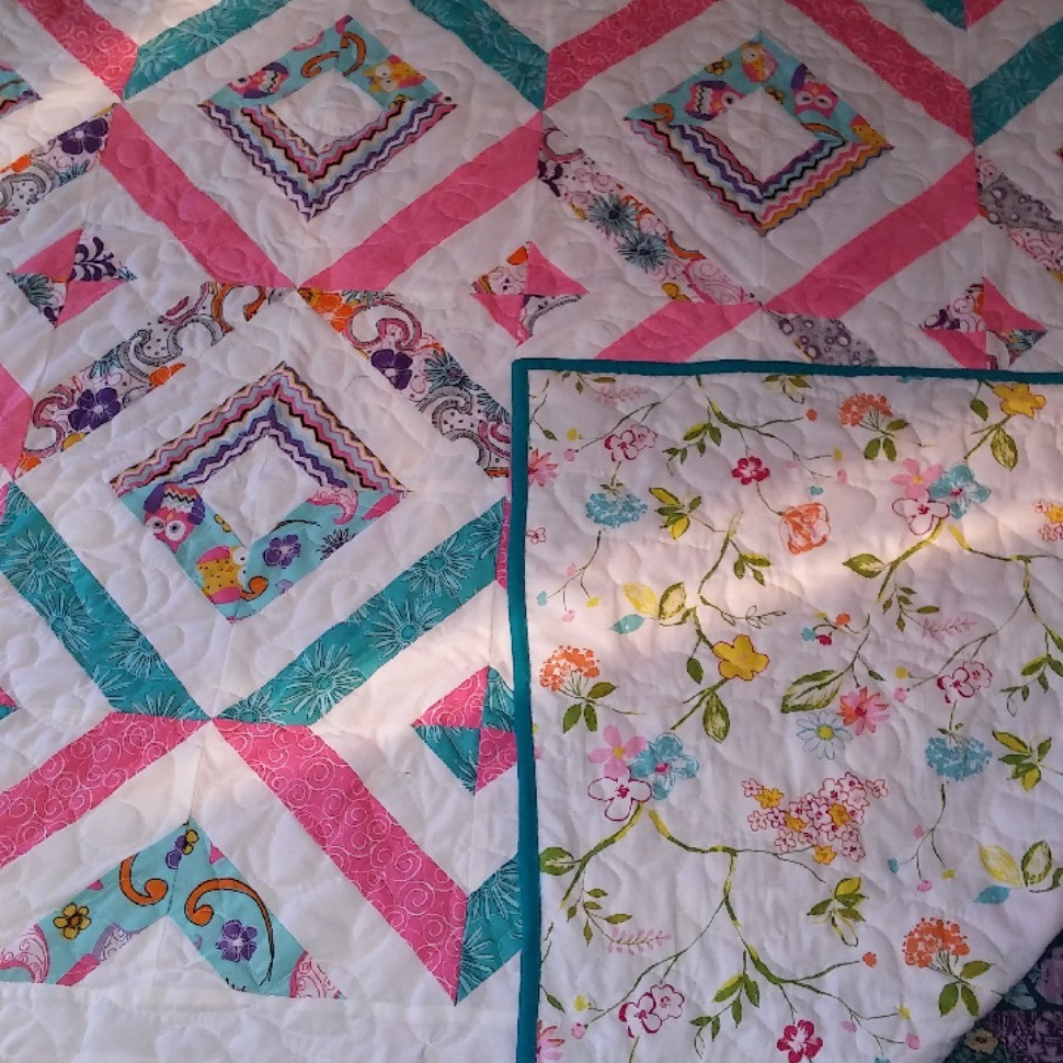 my summer in the park quilt