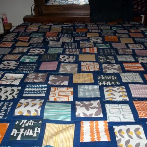 My Wiggling Quilt