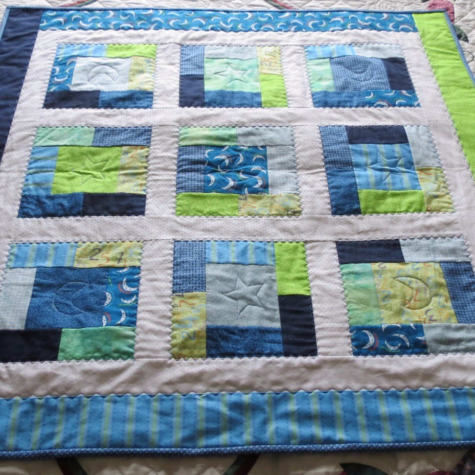 Second baby boy  quilt