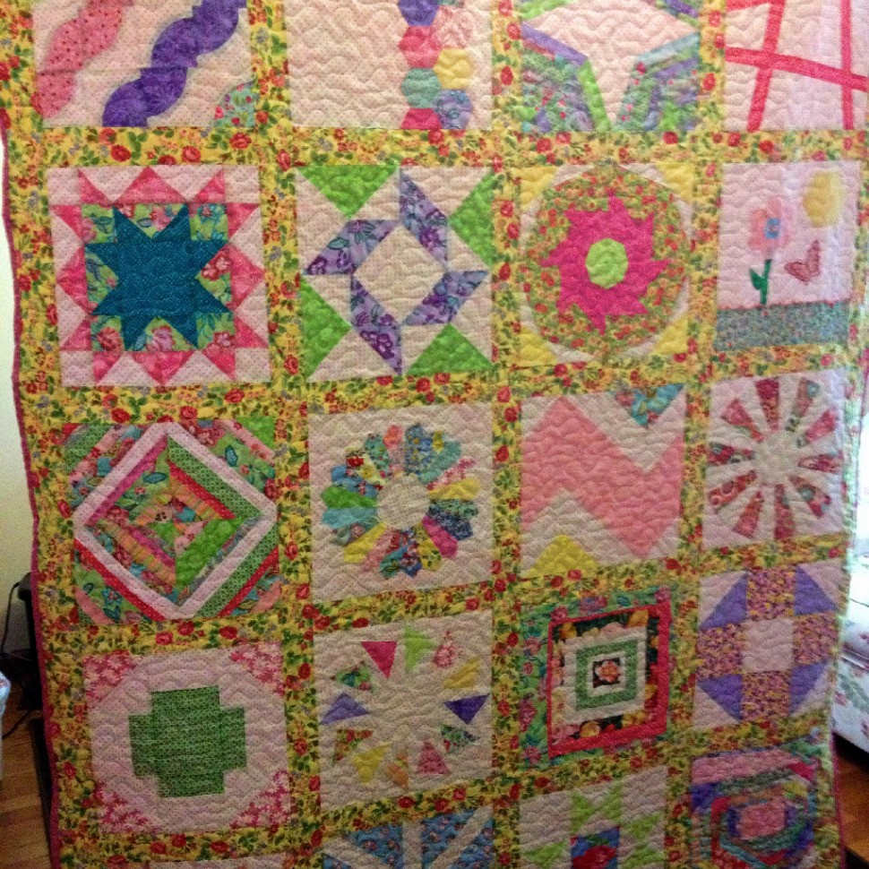 2012 Craftsy Block of the Month Quilt