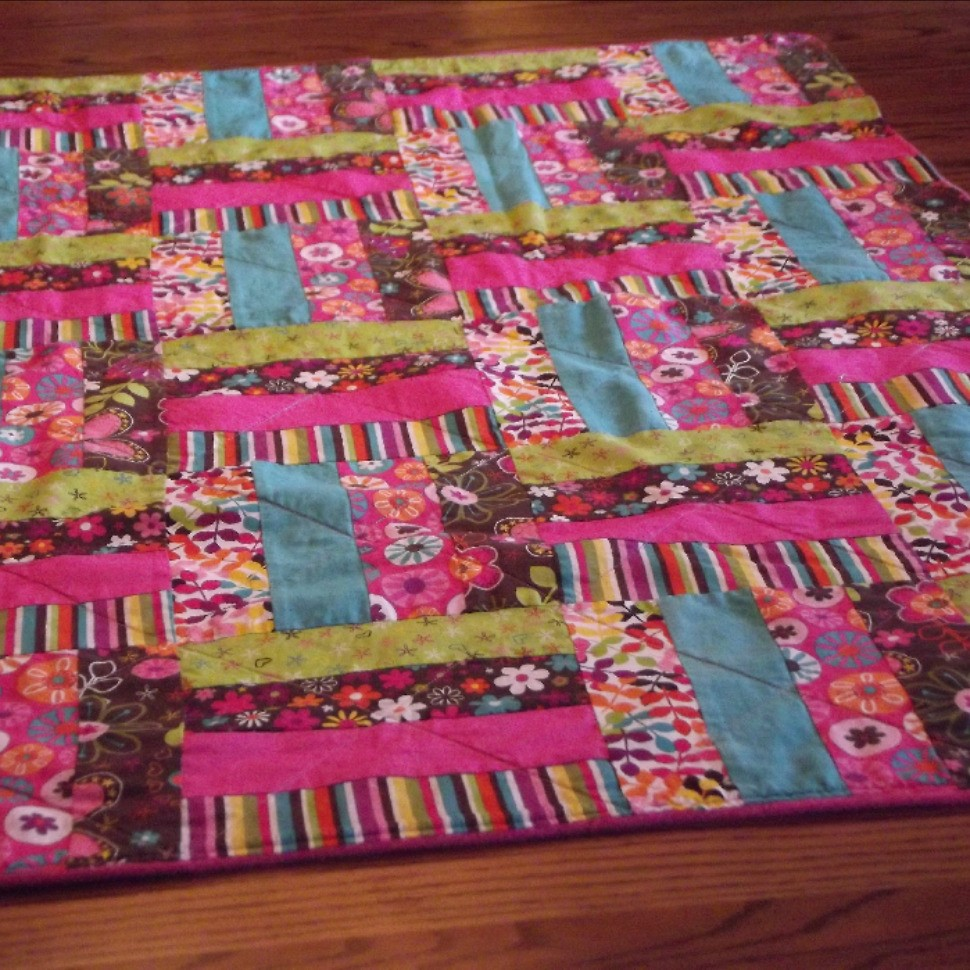 Fence Rail Baby Quilt