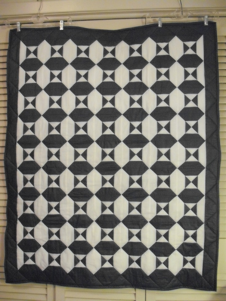 The Hour Glass Quilt
