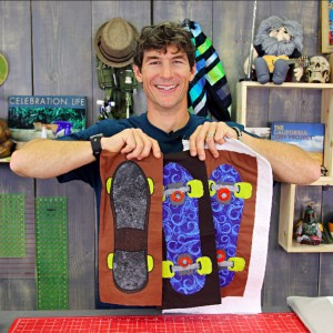 Skateboard Applique Quilt