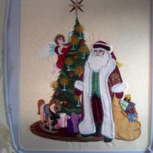 The Old World Santa's Quilt