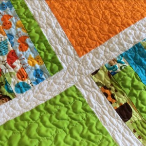 Bright Baby Boy Blanket