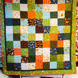 Baby Quilt - Charlie Fox