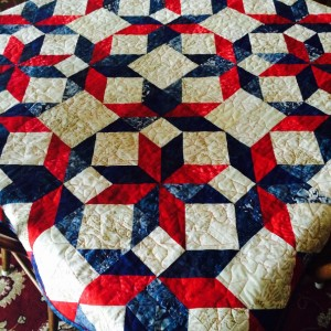Star Spangled Table Topper