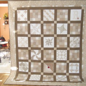 Wedding Quilt for Emily and Kiel