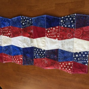 July 4th Holiday Table Runner