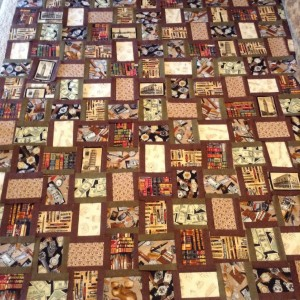 The Man Cave Quilt