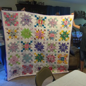 Colleen's first quilt