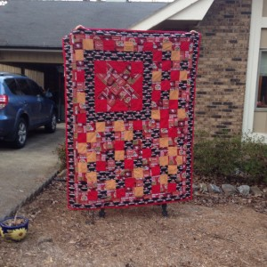 49ers Big Star Charm Quilt