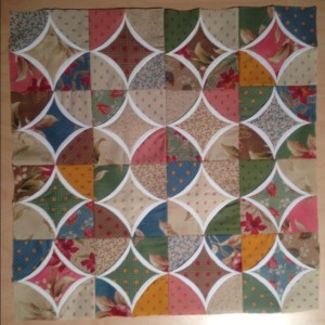 Mini Cathedral Window Quilt