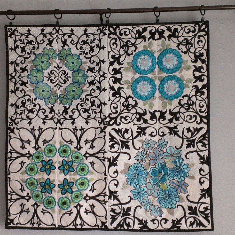 The Garden Gate Wall Hanging