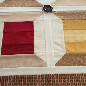 Small Spool Quilted Wall Hanging