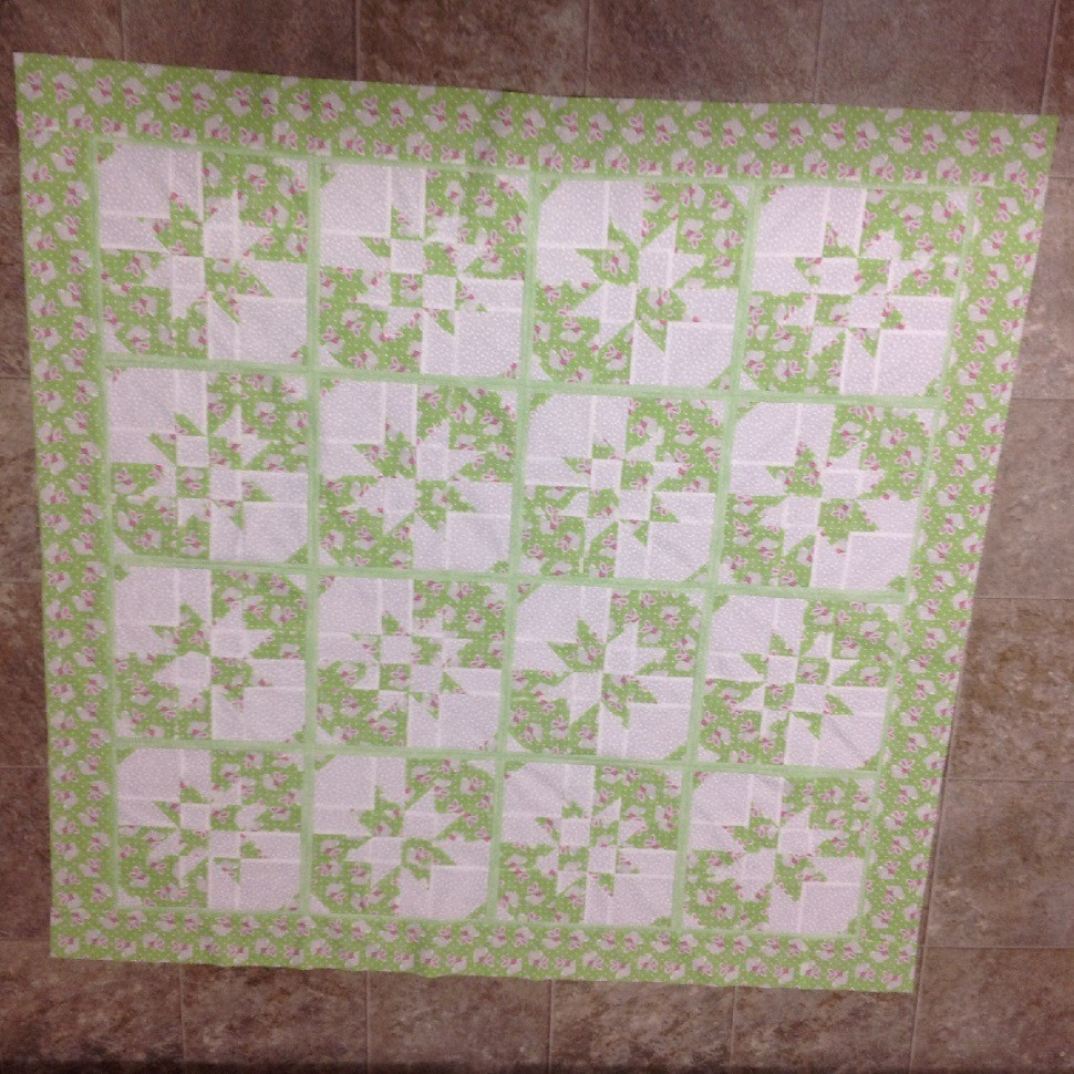 Hopping down the bunny trail quilt