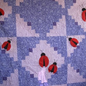 The Lady Bug Ball Quilt