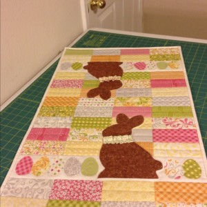 Chocolate Bunnies Table Runner