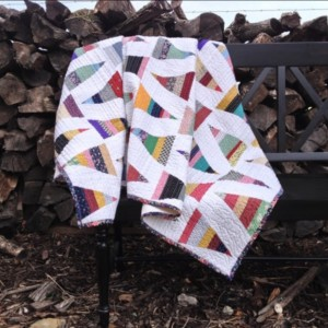 Scrappy Triangle Quilt