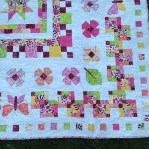 B's 5th Birthday Quilt