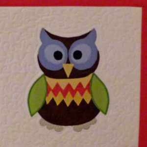 Oliver Owl Wall quilt