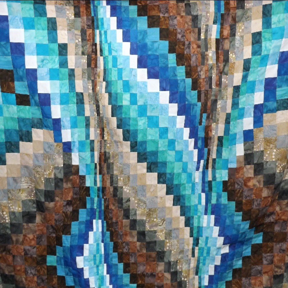 Bargello quit for my Son in law