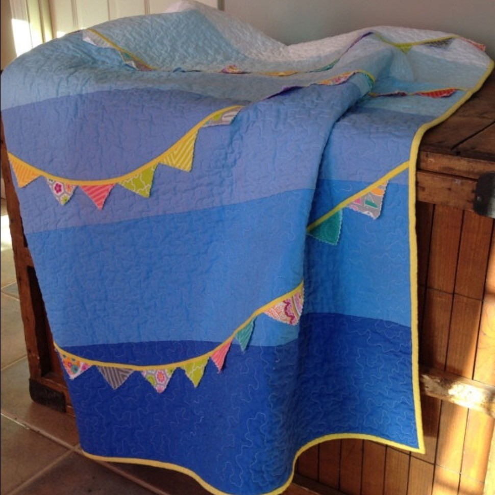 Bitty Bunting Quilt