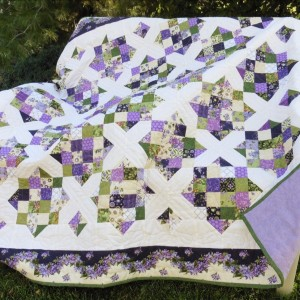 Lilacs Wedding Quilt