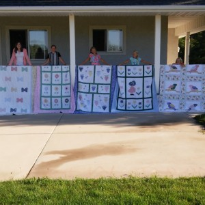 Five Girls' Quilts