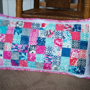 Amanda's Quilted Pillow