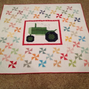 Farm Girl Vintage Tractor Quilt