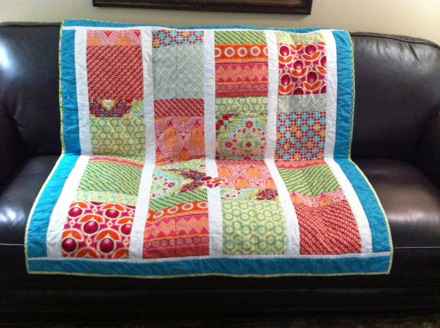 Quilt for my Great-Granddaughter
