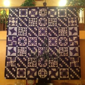 My Puple Passion Sampler Quilt