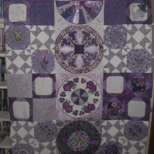 Purple Potpourri Quilt